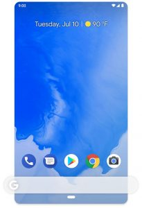 Android one user interface