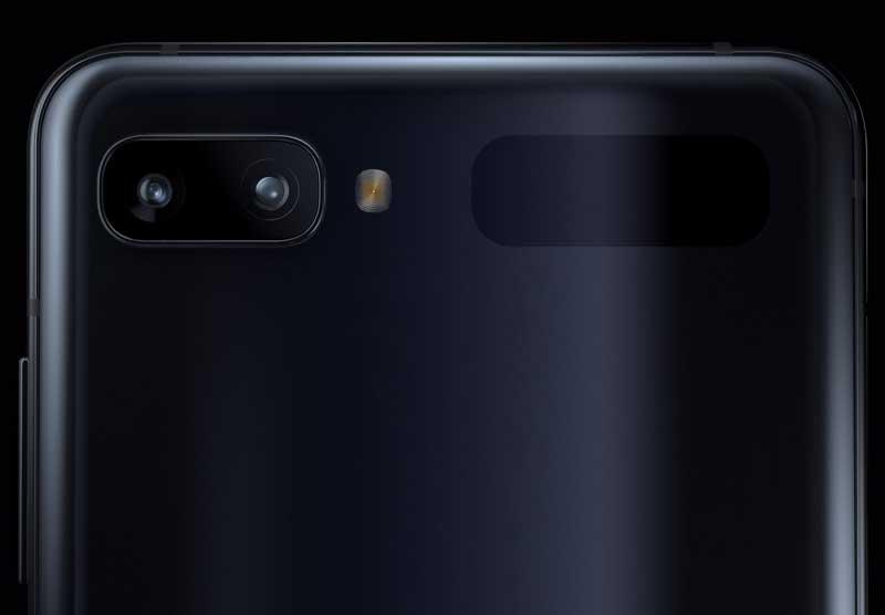 Samsung galaxy z flip camera