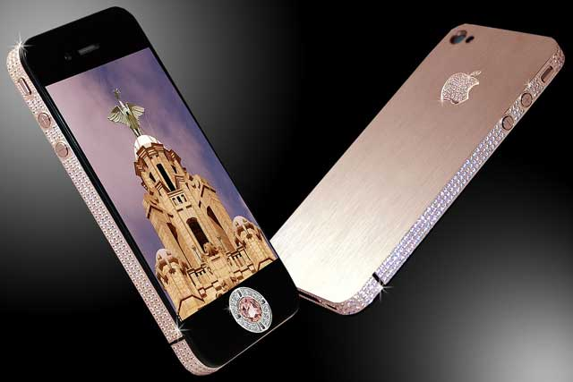 top-10-most-expensive-phones-iphone-4-diamond-Rose